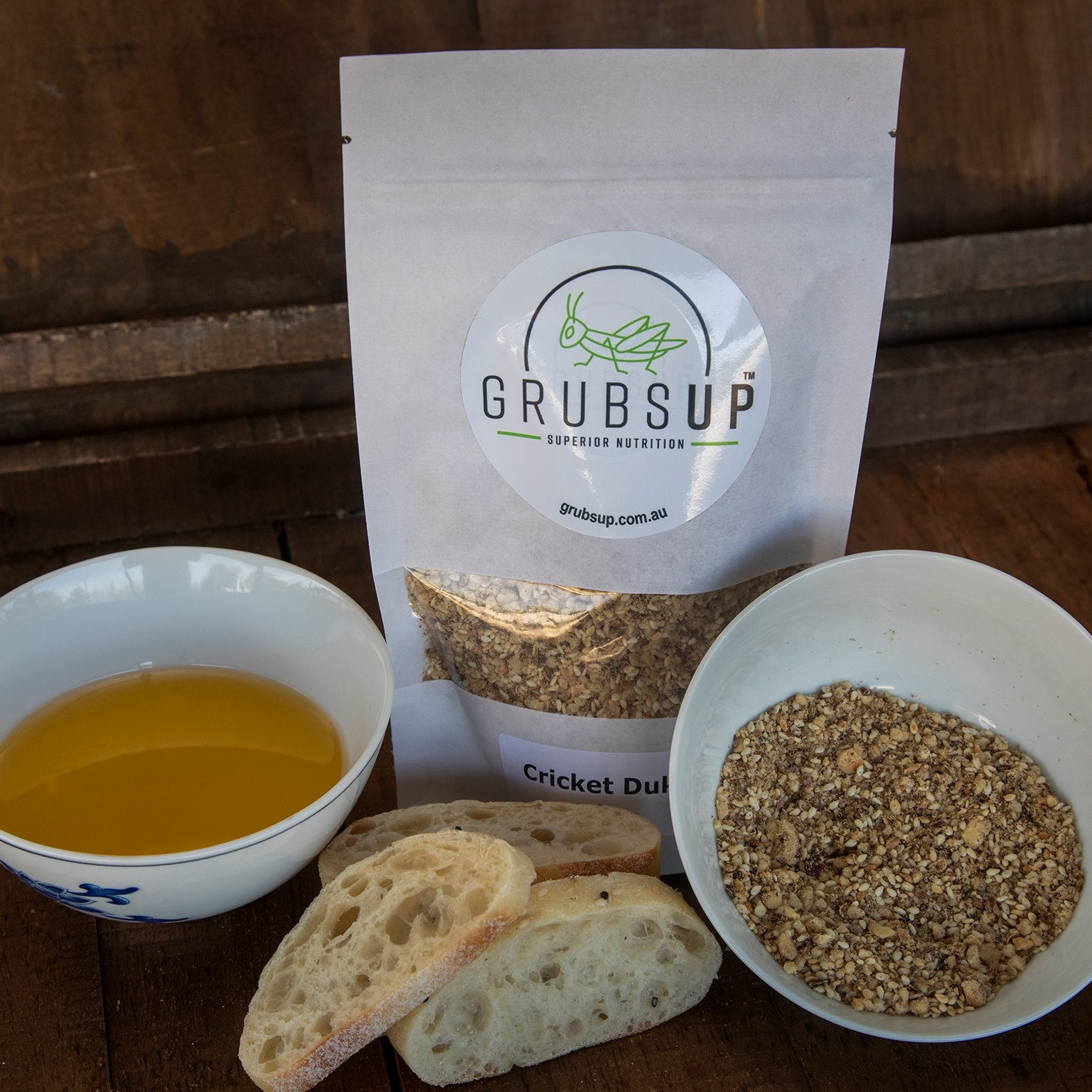 Superior Nutrition Products | Our Products | Grubs Up | Best Protein-Rich Dukkha Mix | Delicious Cricket Hazelnut Dukkha